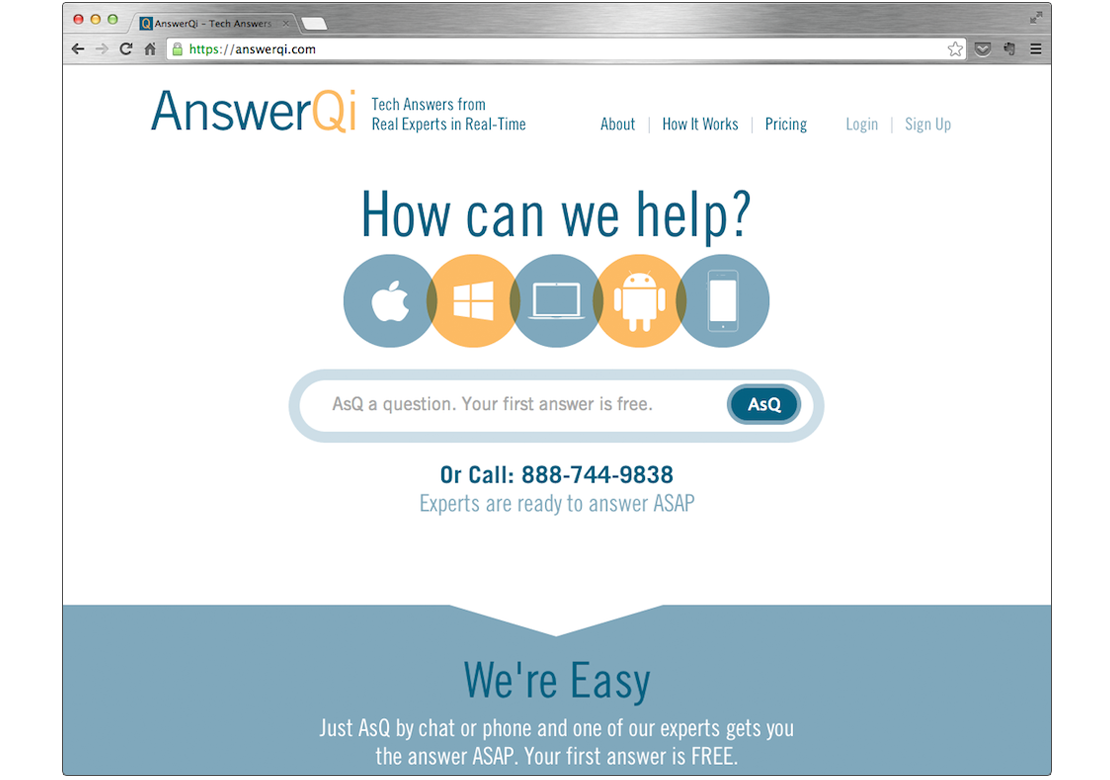 AnswerQi Home CMP
